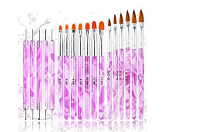 18PCS Acrylic Nail Brush Set Nail Art Brushes