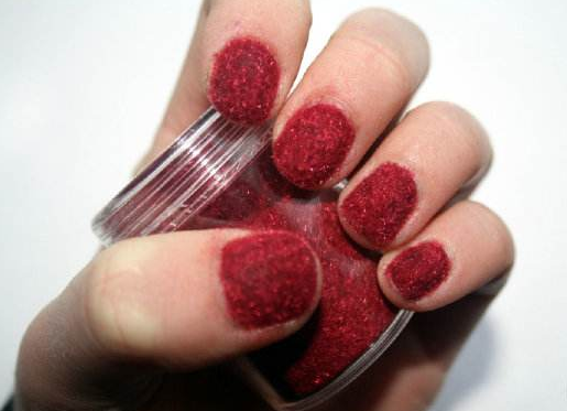 How to make velvet nails