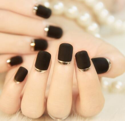 How to make nail French sticker