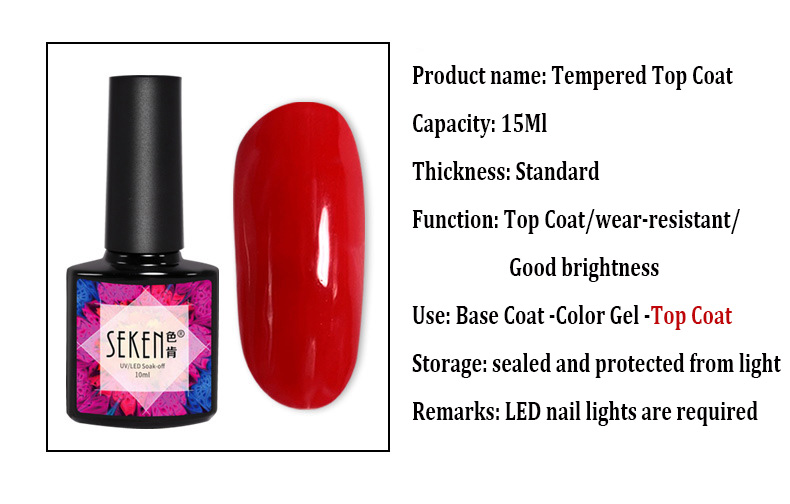Tempered Top Coat