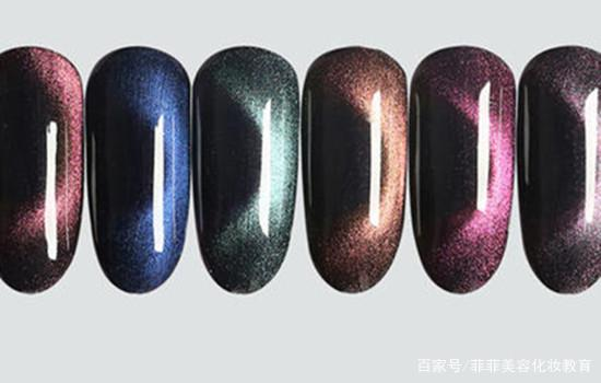 How to use cat eye nail polish gel magnet
